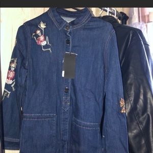 Zadig and Voltaire new with tags denim jacket